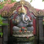 Ganesh outside of my room