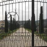 entrée du chateau