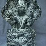 vishnu stone statue