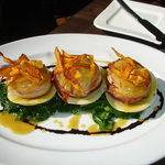Maple Bacon Wrapped Scallops