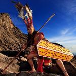 A Warrior at the peak of Mount Kinabalu