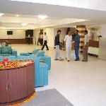 Hotel Entrance Lounge