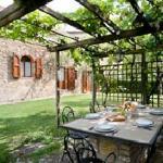 La Pergola, Private garden