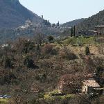 view from hill above Casa San Gabriel