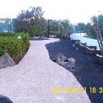 pathways around the grounds
