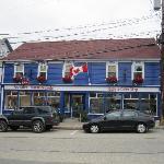 On Lincoln St. In Lunenburg Nova Scotia.