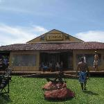 Museu do Tubarao - The restaurant from the outside
