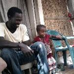 Pascal avec sa fille Edith