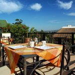 Breakfast with a view - Knysna Country House