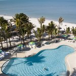 New Pool Complex & Gulf Of Mexico