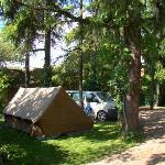 Big family tent