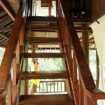 Stairs up to Coco Room