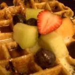 Belgian Waffle Breakfast-Cinnamon Bear Creekside Inn Sonoma, CA