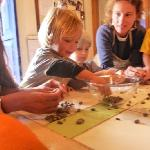 Making chocolate with kids