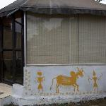 The glass hut at Niblic