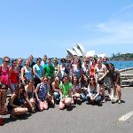 Group photo with the Opera House!