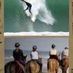 Surfing at Popoyo, Astillero, Santana, or Playgrounds and Horseback Riding too.