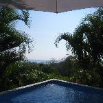 The pool!  And the view from the pool!