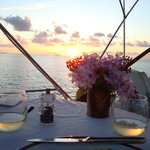 Dinner at Sunset!!