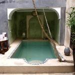 Riad interior 1