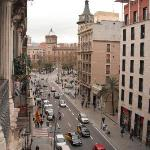 View of Universitat from room