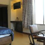 The suite room with jakuzi