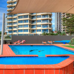 Direct access onto beach, heated pool all year.