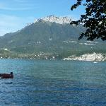 A view of Lake Annecy