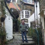 In the village of Robin Hood's Bay