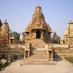it takes 3-4min by walk, you can see the temple.