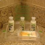 Room 616 - complimentary toiletries
