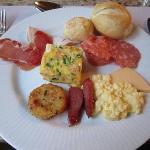 朝食も美味でした