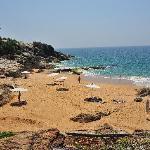 Una delle due spiaggie del Bethsaida . PaoloB