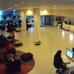 Novotel Est Bagnolet Paris: recepción - lobby