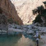 hiking in wadi As Shab (south-east of Muscat)