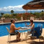 Enjoy our heated swimming pools.