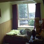 Fenêtre de la chambre familiale