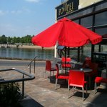 Pompei Ristorante by the river, Carlow