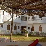 Hotel compound leisure area