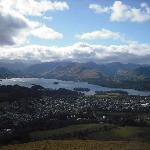 View from the top of Latrigg