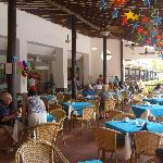 One of the restaurant