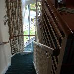 Stairs from the Leaving Area to the Bedroom Upstairs