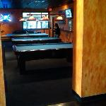 The First Pool Room - Ping Pong on the far table