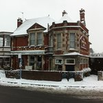 The Crows Nest in the snow
