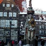 Roland Statue at Marktplatz