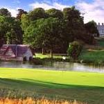 boat house and first tee of the Montgomerie