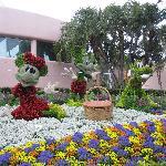 Epcot flower and garden festival 2011