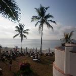 vista spiaggia da terrazza