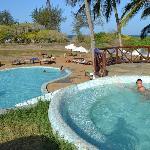 piscina idromassaggio Jacuzzi e mini piscina