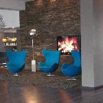 Lounge am Eingang